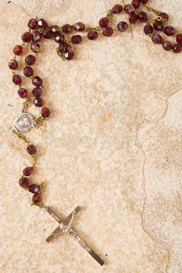 Download Rosary With Copy Space Stock Photography - Image: 2301372