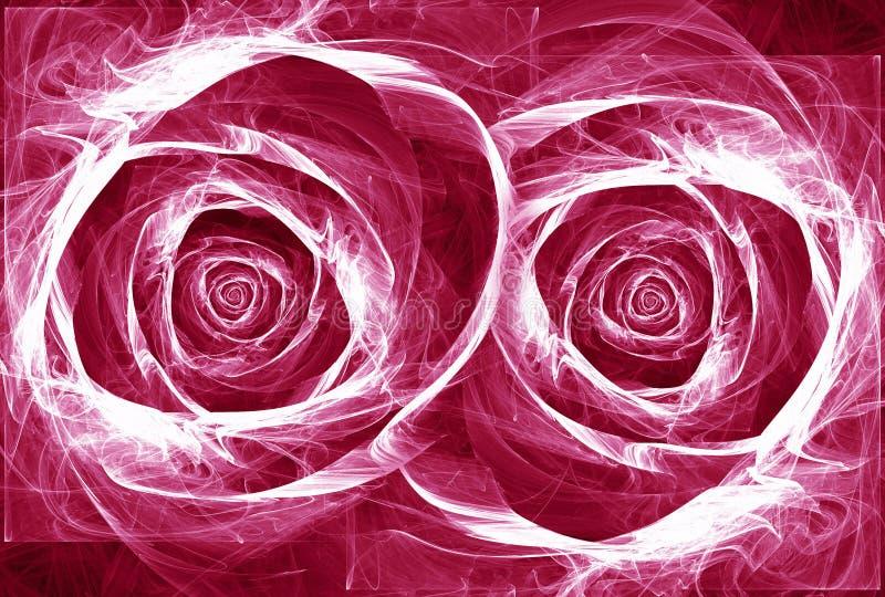 Rosas ilustración del vector