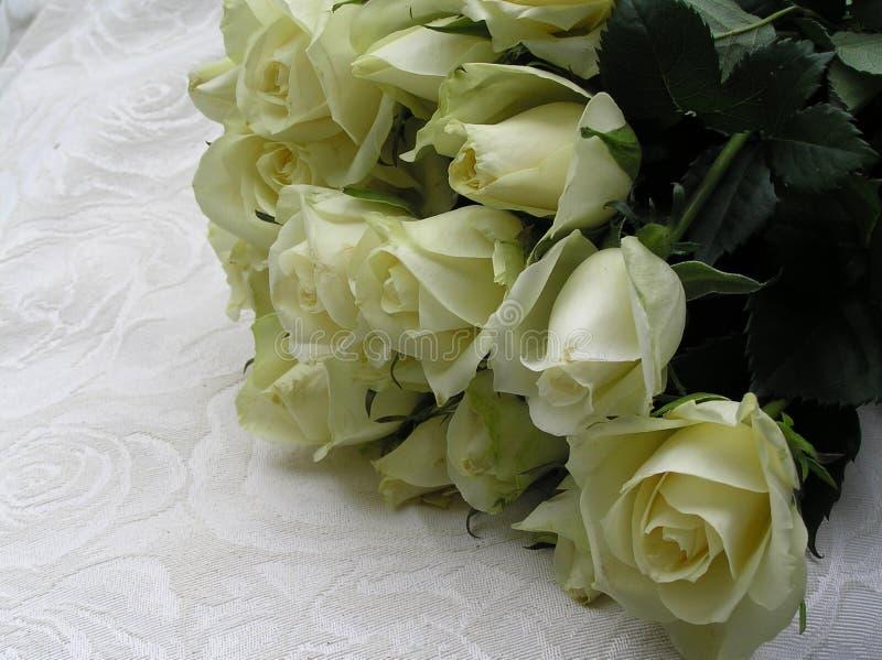 Rosas de la boda foto de archivo