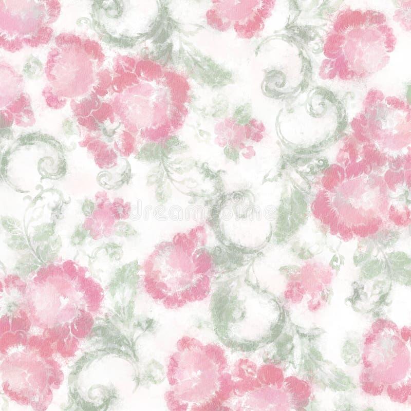 Rosas de la col del fondo foto de archivo libre de regalías