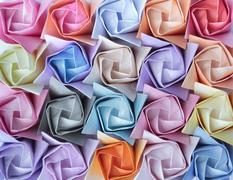 Rosas de papel fotos de stock royalty free