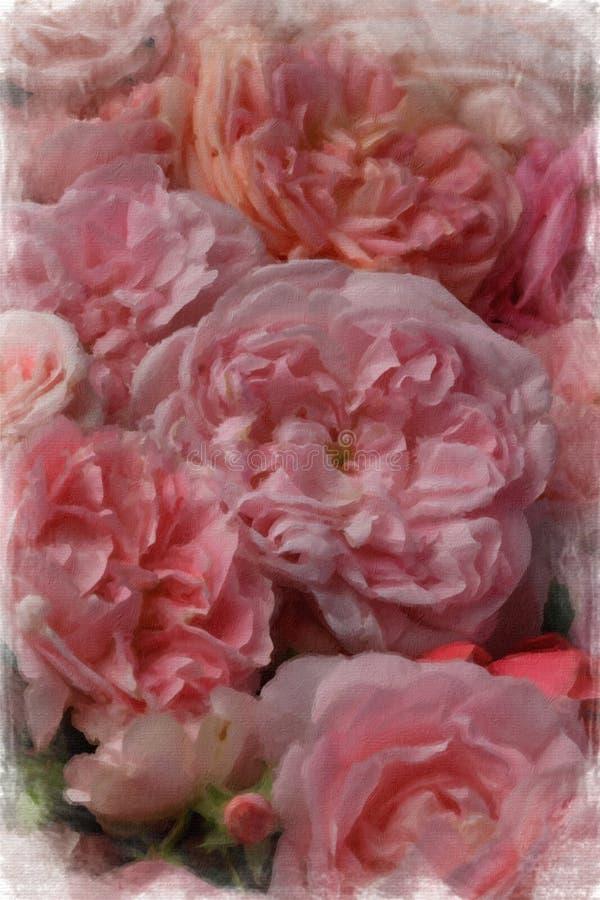 Rosas del vintage fotografía de archivo libre de regalías