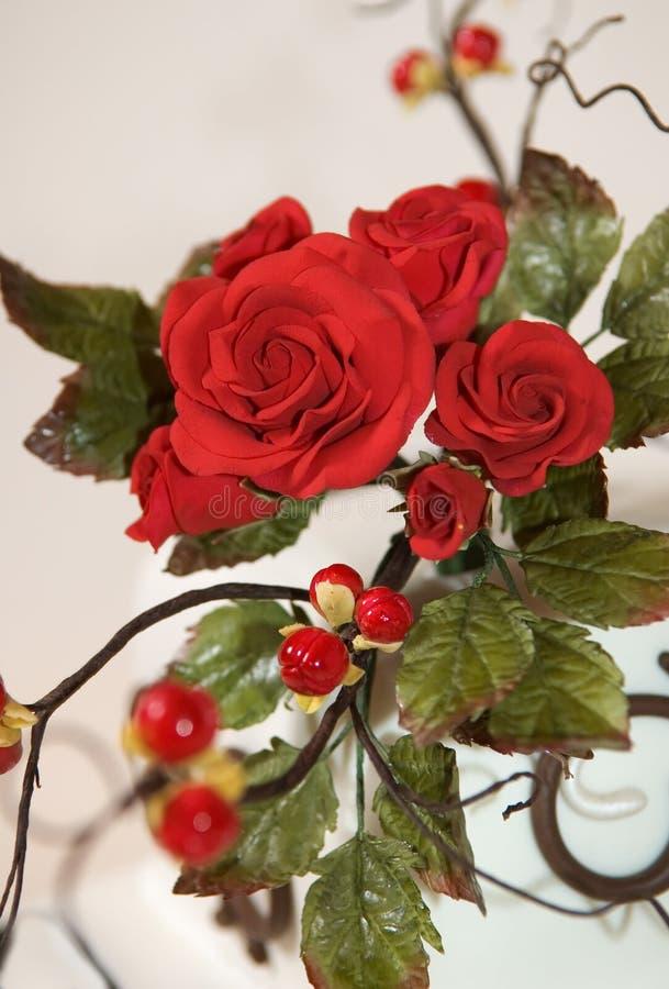 Rosas do açúcar foto de stock
