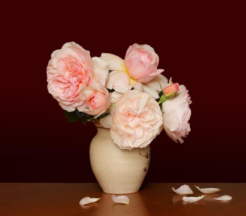Rosas do estilo velho imagens de stock royalty free
