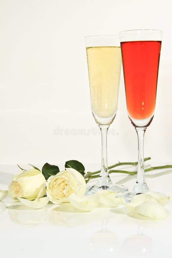 Rosas Do Romance Imagens de Stock