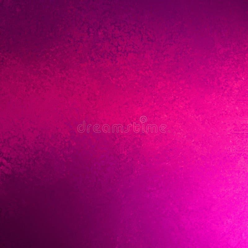 Rosas fuertes y fondo púrpura ultravioleta en diseño abstracto moderno de la textura del grunge ilustración del vector