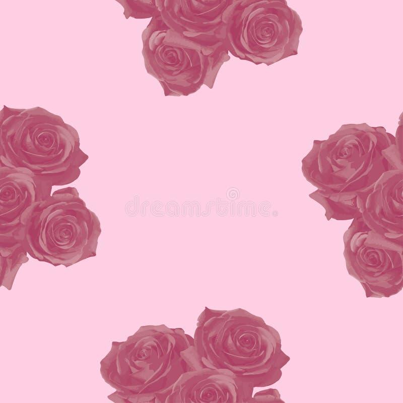 Rosas no fundo delicado fotos de stock