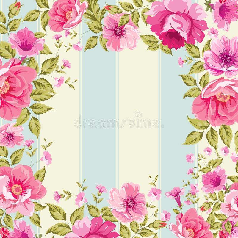 Rosas, papel pintado floral libre illustration