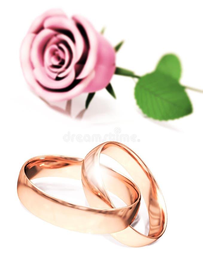 Rosas para grandes celebrações ilustração stock