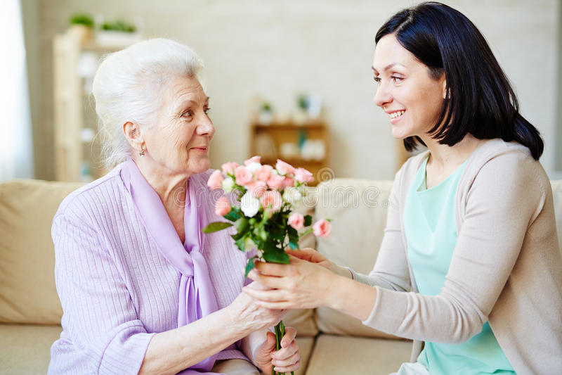 Rosas para o mum imagem de stock