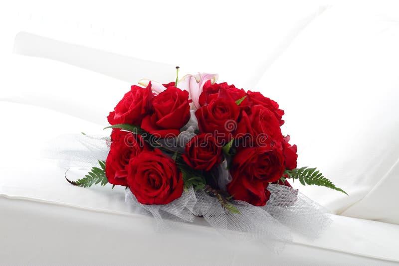 Rosas rojas hermosas fotos de archivo libres de regalías