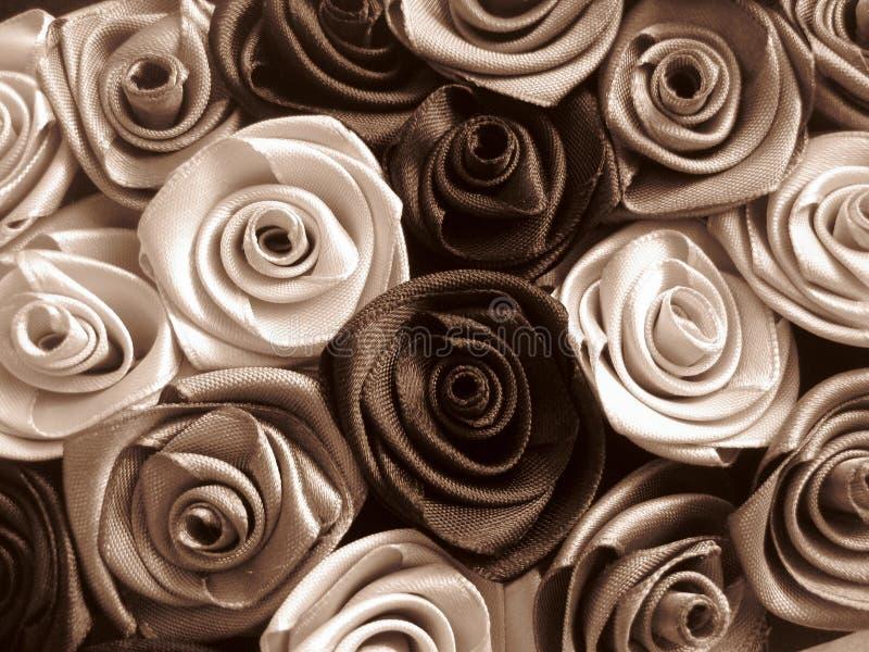 Rosas Satiny imagem de stock