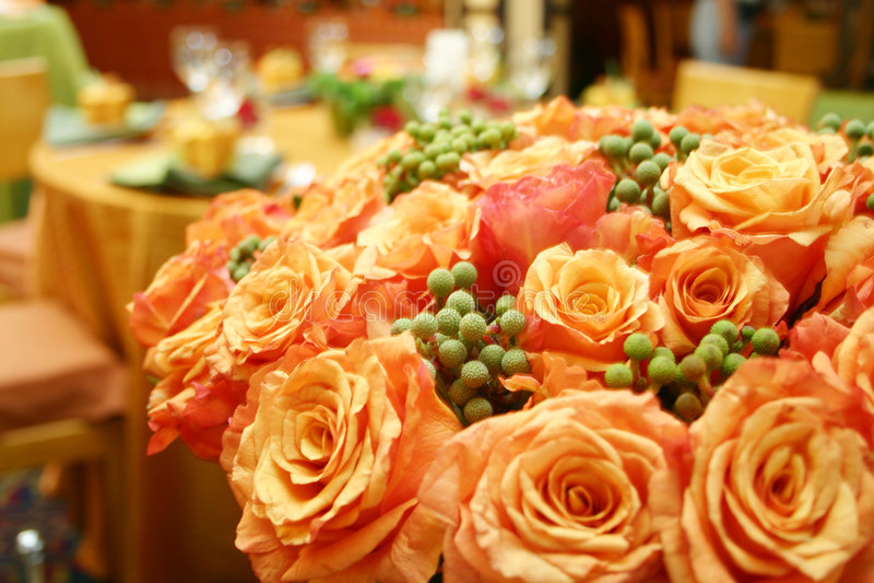Rosas tailandesas anaranjadas 015 fotografía de archivo libre de regalías
