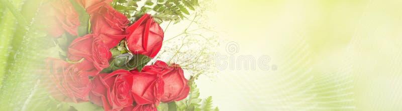 Rosas vermelhas ilustração do vetor