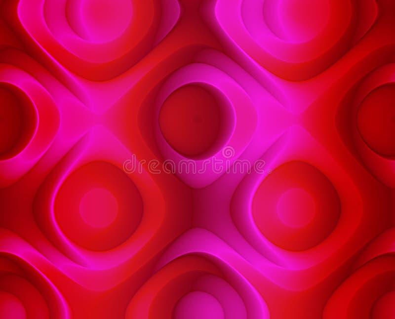 Rosas vermelhas abstratas fundo e papel de parede ilustração royalty free