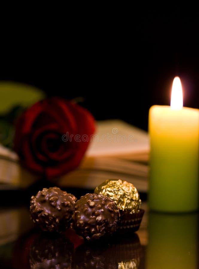 Download Noite romântica imagem de stock. Imagem de elegante, especial - 29844683