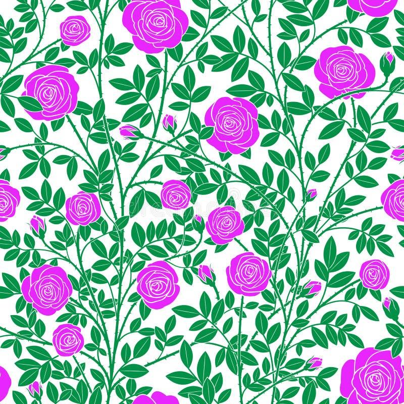 Rosas violetas torcidas libre illustration