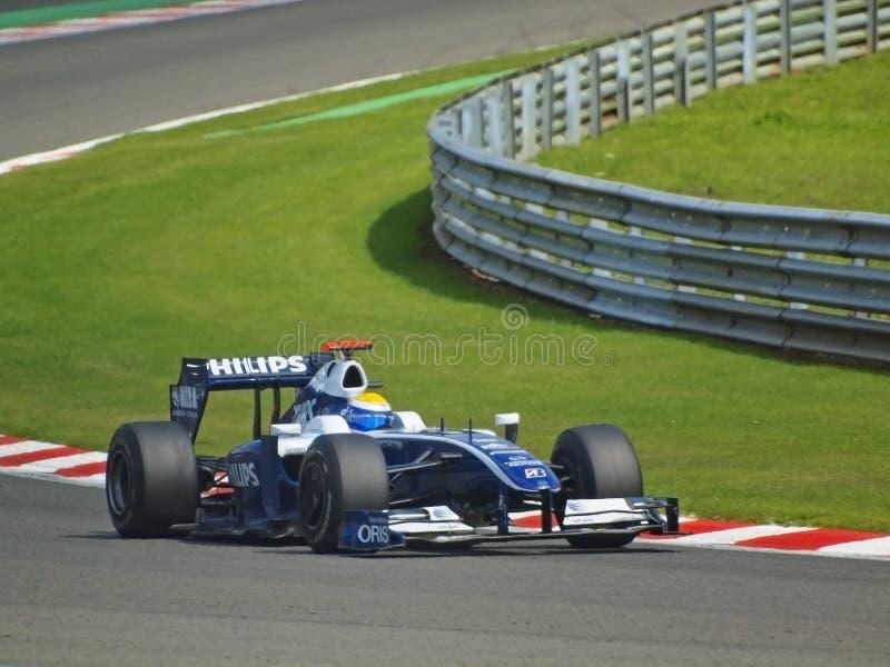 Rosberg... #16 Nico Rosberg, Williams-Toyota on 2009 FORMULA 1 ING BELGIAN GRAND PRIX, 28-30.08.2009, Spa-Francorchamps. Finished eighth stock image