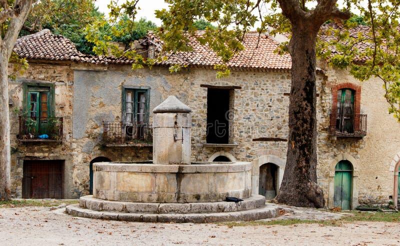 Roscigno Vecchio - Ghost town in Cilento. Roscigno Vecchio - old abandoned village in Cilento, Campania, italy stock photography