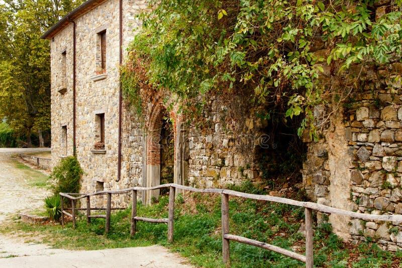 Roscigno Vecchio - Ghost town in Cilento. Roscigno Vecchio - old abandoned village in Cilento, Campania, italy stock photos