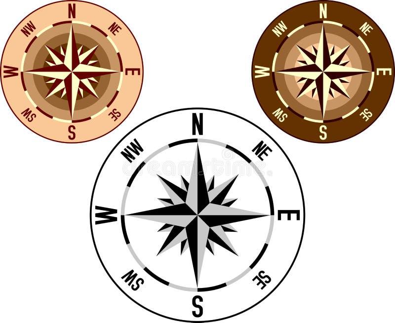 rose 1 wiatr royalty ilustracja