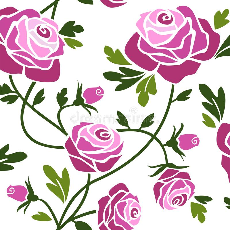 Rose royalty illustrazione gratis