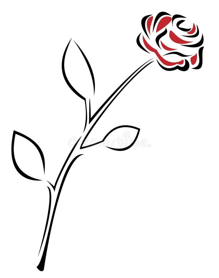 Rose libre illustration