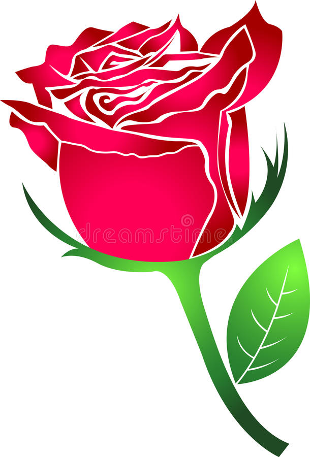 Download Rose stock vector. Illustration of floral, concept, graphic - 19069952