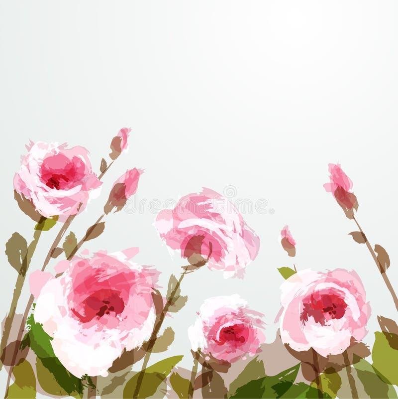Rose illustrazione vettoriale
