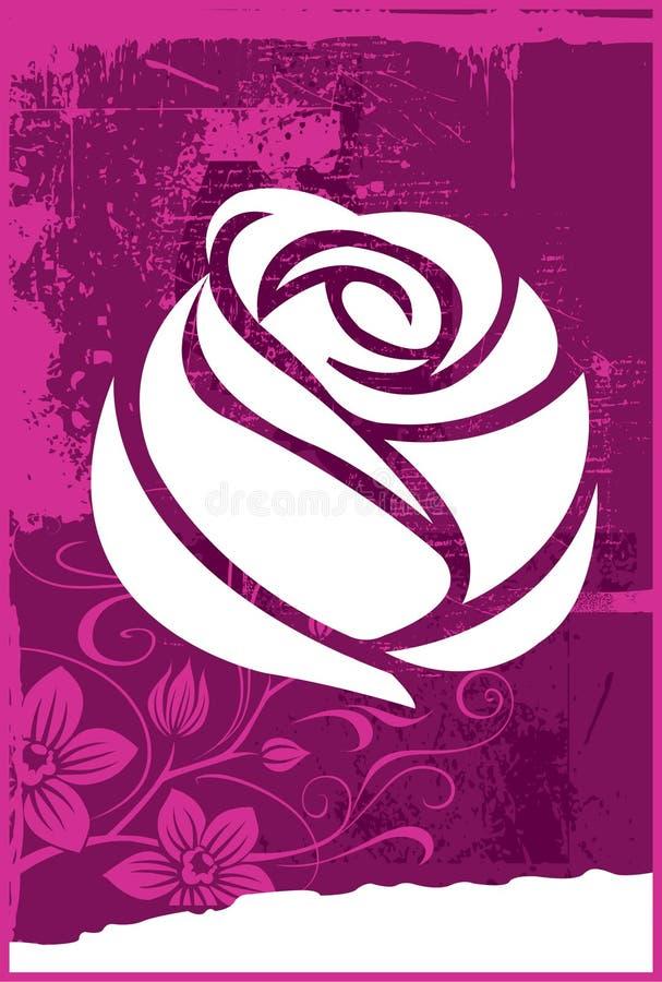 Rose vektor illustrationer