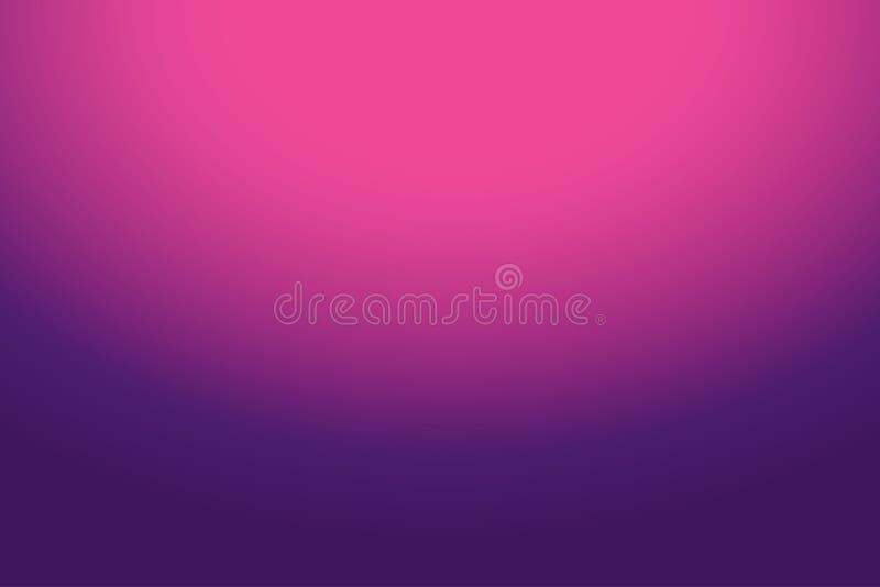 Rose abstrait coloré au fond pourpre de gradient pour votre conception graphique image libre de droits