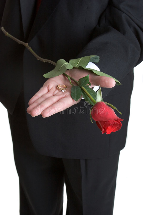 Free Rose And Ring Stock Photography - 2364912