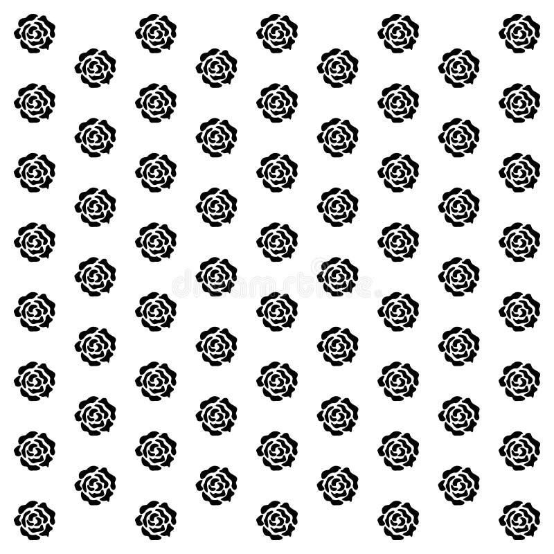 Rose Background-Ikone, die für irgendwelche groß ist, verwenden Vektor eps10 stock abbildung