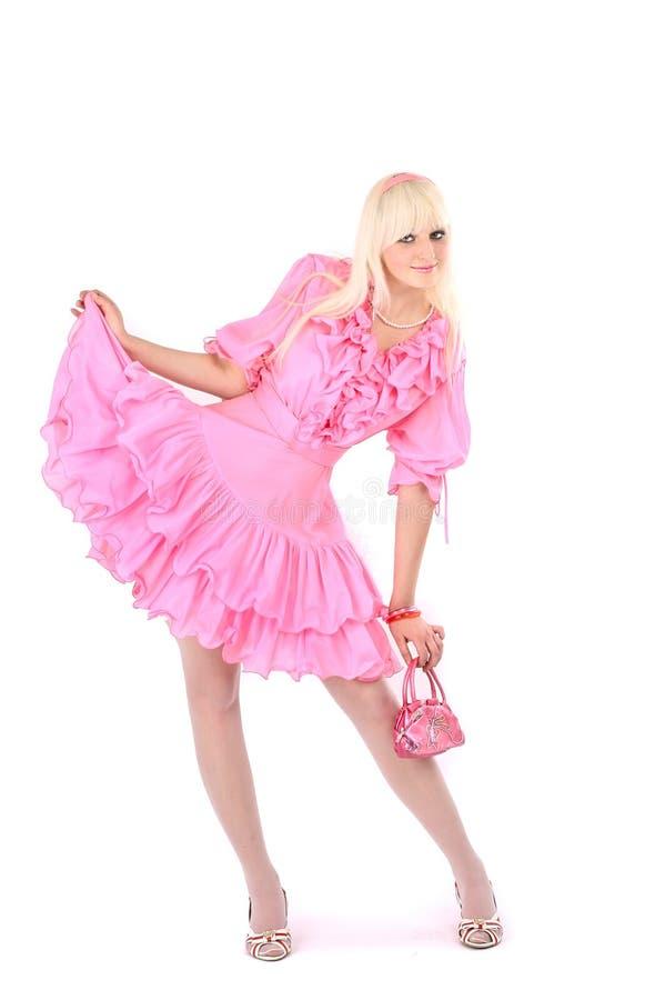 rose blond de robe images libres de droits