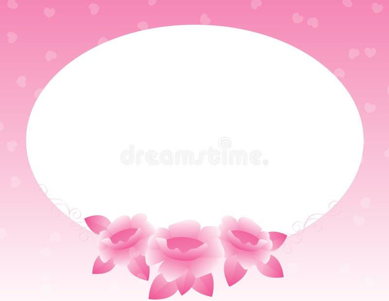 Download Rose border stock illustration. Illustration of beauty - 8033931