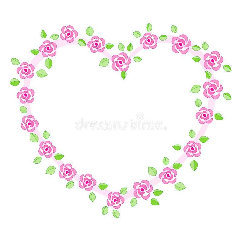Rose Border / Wedding Invitation Stock Vector - Illustration of ...