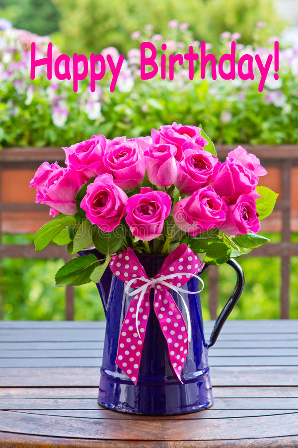 2 273 Rose Bouquet Text Happy Birthday Photos Free Royalty Free Stock Photos From Dreamstime