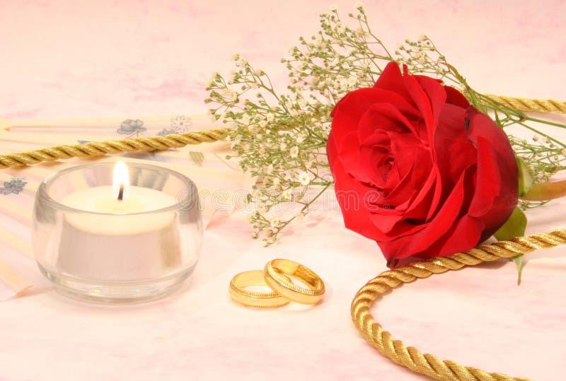 rose bröllop för band royaltyfri fotografi
