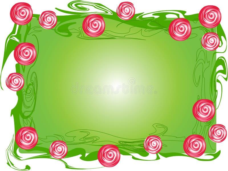 Download Rose-bush border stock vector. Illustration of messy - 11605506