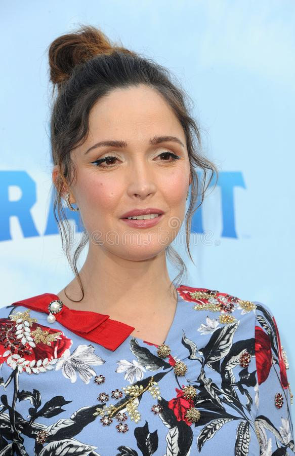 Rose Byrne stock fotografie
