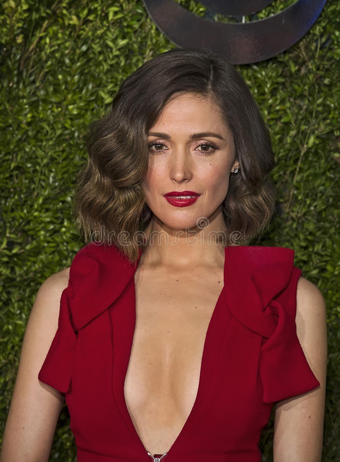 Rose Byrne Attends 2015 Tony Awards royalty-vrije stock fotografie