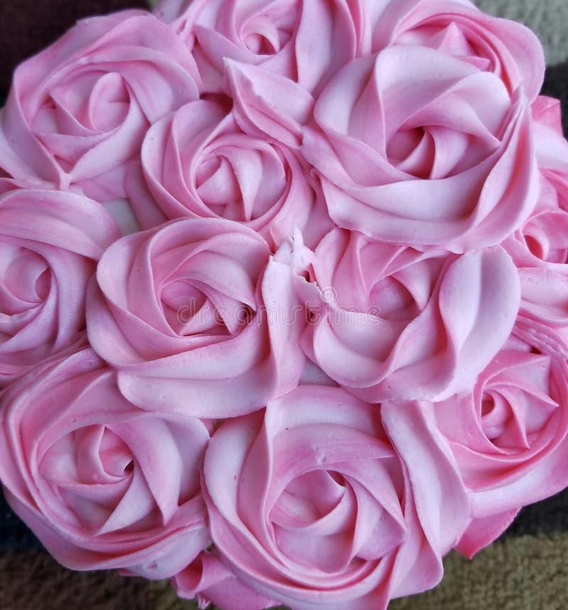 Rose Cake fotos de archivo