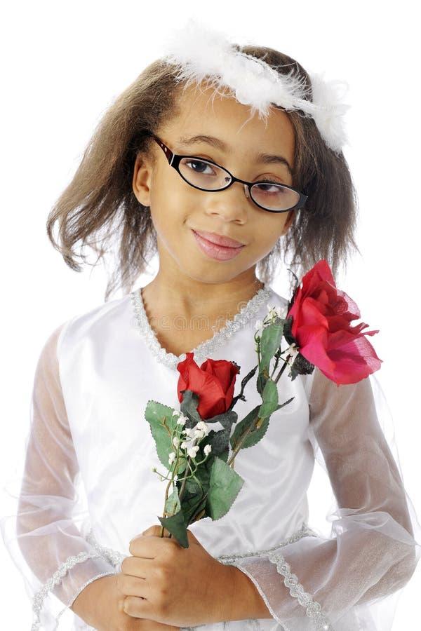 Rose Carrier felice fotografia stock libera da diritti