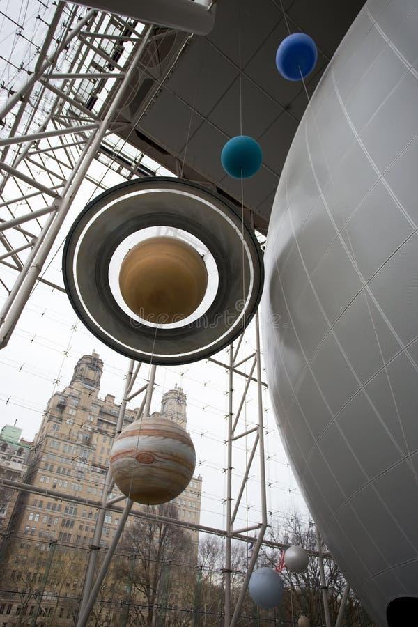 Rose Center para a terra e o espaço, New York fotos de stock