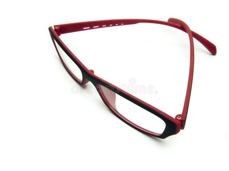Download Rose-colored Gläser stockfoto. Bild von weiß, fashion - 26365982