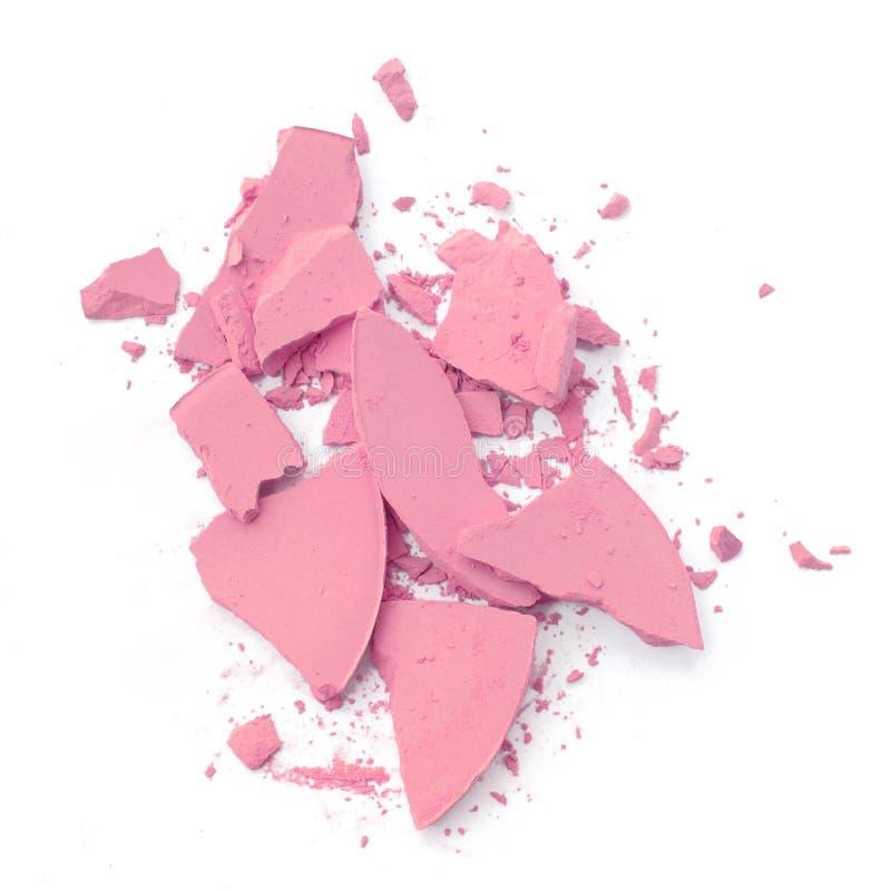 Rose cosmétique écrasé image libre de droits