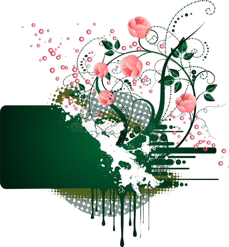 rose crunch ilustracji