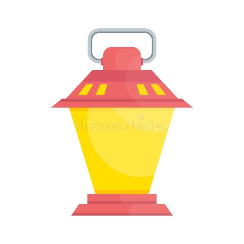 Rose démodé de lanterne illustration libre de droits