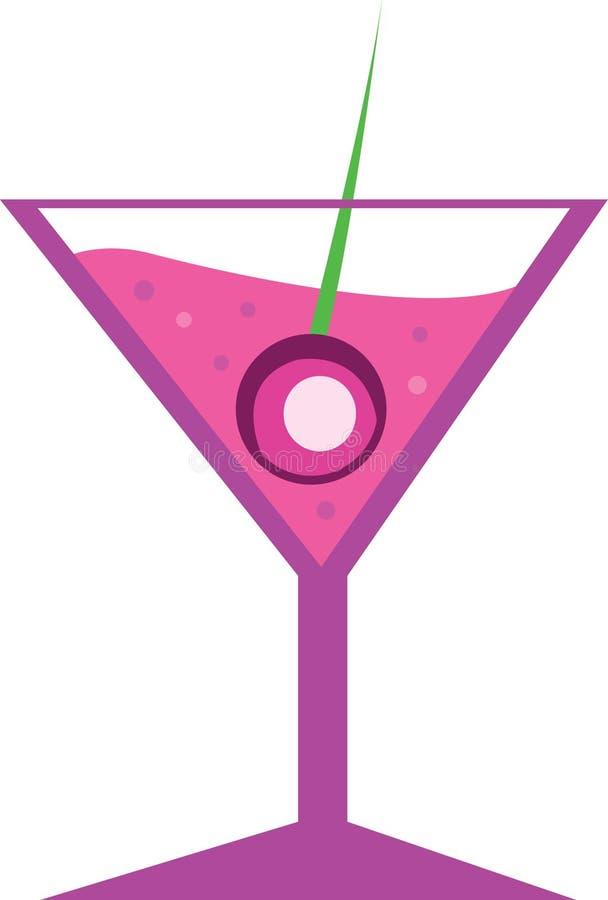 Rose de cocktail illustration libre de droits