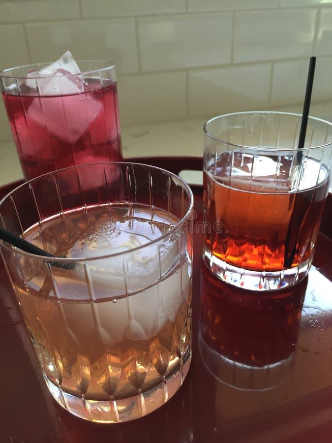 Rose de cocktails photos libres de droits
